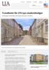 Trondheim får 275 nye studentboliger