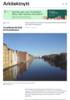 Trondheim får Råd for byarkitektur