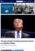 Trump ønsker å forby pressens bruk av skjulte kilder