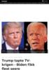 Trump tapte TV-krigen - Biden fikk flest seere