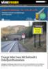 Tunge biler kan bli forbudt i Oslofjordtunnelen