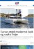 Turcat med moderne look og raske linjer