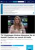 TV 2 beklager Krekar-blemme: Sa at Kadafi Zaman var sendt til Italia