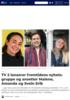 TV 2 lanserer fremtidens nyhetsgruppe og ansetter Malene, Hannah Amanda og Svein Erik