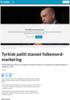 Tyrkisk politi stanset folkemord-markering