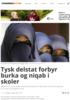 Tysk delstat forbyr burka og niqab i skoler