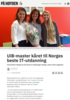 UiB-master kåret til Norges beste IT-utdanning