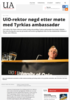 UiO-rektor nøgd etter møte med Tyrkias ambassadør