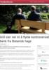 UiO sier nei til å flytte kontroversiell benk fra Botanisk hage