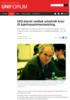 UiO-styret vedtok omstridt krav til kjønnssammensetning