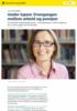 Under lupen: Overgangen mellom arbeid og pensjon