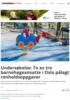 Undersøkelse: To av tre barnehageansatte i Oslo pålagt renholdsoppgaver