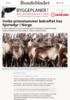 Unike prionstammer bekreftet hos hjortedyr i Norge