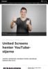 United Screens henter YouTube-stjerne