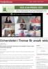 Universitetet i Tromsø får ansatt rektor