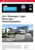 Uro i Stavanger: Leger læres opp i intensivsykepleie