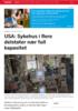 USA: Sykehus i flere delstater nær full kapasitet