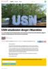 USN-studenter drept i Marokko