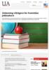 Utdanning viktigere for framtidas jobbsøkere