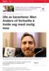 Ute av karantene: Men Anders vil fortsette å holde seg mest mulig inne