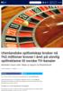 Utenlandske spillselskap bruker nå 742 millioner kroner i året på ulovlig spillreklame til norske TV-kanaler