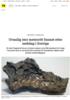 Uvanlig stor meteoritt funnet etter nedslag i Sverige