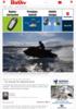 Vannscootere likestilt med fritidsbåter - Ta ansvar for bevisst bruk