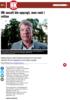 VANT FRAM: Handel og Kontor hadde ikke grunnlag for å gå til oppsigelse av regionsekretær Geir Løland, slår Stavanger tingrett fast. Martin Guttormsen Slørdal HK-ansatt ble oppsagt, men vant i retten Handel og Kontor er dømt til å betale erstatning til...