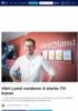 Vårt Land vurderer å starte TV-kanal