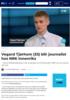 Vegard Tjørhom (33) blir journalist hos NRK Innenriks