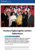 Verdens fagbevegelse samlet i København