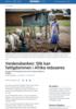 Verdensbanken: Slik kan fattigdommen i Afrika reduseres