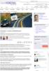 Verdsetter vi andres trafikksikkerhet? - Samferdsel