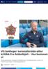 VG beklager koronaforside etter kritikk fra fotballsjef: - Her bommet vi