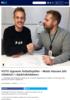 VGTV signerer fotballspiller - Mads Hansen blir sidekick i Spårtsklubben