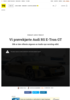 Vi prøvekjørte Audi RS E-Tron GT