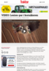 VIDEO: Lexion-par i kornåkeren