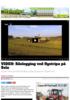 VIDEO: Silolegging ved flystripa på Sola