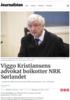 Viggo Kristiansens advokat boikotter NRK Sørlandet