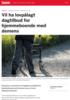 Vil ha lovpålagt dagtilbud for hjemmeboende med demens