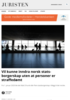 Vil kunne inndra norsk statsborgerskap uten at personer er straffedømt
