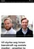 Vil styrke seg innen bærekraft og sosiale medier - ansetter to nye rådgivere