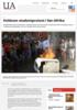 Voldsom studentprotest i Sør-Afrika