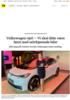 Volkswagen-sjef: - Vi skal ikke være først med selvkjørende biler