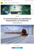 Vy vant kontrakten om togtrafikk på Bergensbanen og Vossebanen