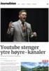 Youtube stenger ytre høyre-kanaler