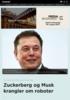 Zuckerberg og Musk krangler om roboter